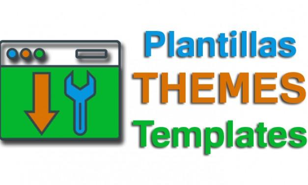 Más templates y themes listos para descargar y usar