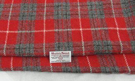 Harris Tweed–Tela 100% de lana pura auténtico con etiquetas.. 75cm x 50cm–-ref. F12–— Ver toda la gama de Harris Tweed en la fatfrog. Uk. Online tienda de Amazon