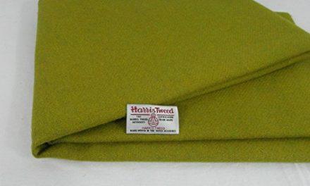 Auténtico Harris Tweed tela 100% pura lana con etiquetas.. 75cm x 50cm–-ref. F49–— Ver todo el gama de Harris Tweed en la fatfrog. UK. Online tienda de Amazon