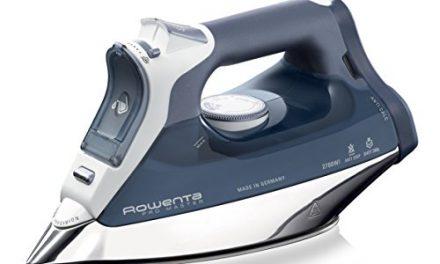 Rowenta ProMaster DW8112 – Plancha, 2700 W, golpe de vapor 200 g/min, suela Microsteam Laser 400, sistema de autolimpieza