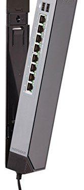 Netgear GSS108E-100EUS – Switch ProSAFE (8 puertos Ethernet Gigabit Web Managed, diseño regleta y garantía durante su vida útil)