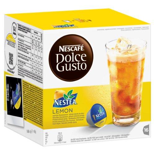 Nescafe dolce gusto. nestea limon