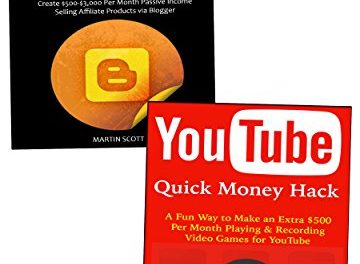 Use YouTube & Amazon to Make Money Online: 2 Ways to Make Fast Cash Online (English Edition)