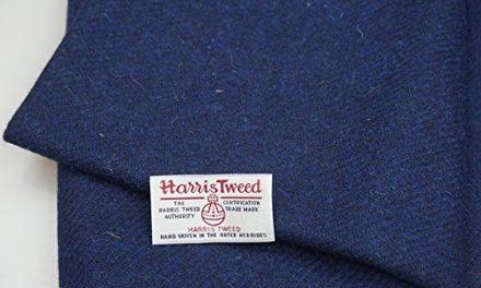Harris Tweed–Tela 100% de lana pura auténtico con etiquetas.. 75cm x 50cm–-ref. dec15–— Ver toda la gama de Harris Tweed en la fatfrog. Uk. Online tienda de Amazon