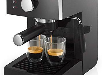 Saeco HD8423/11 – Máquina de café espresso manual, 950 W, color negro