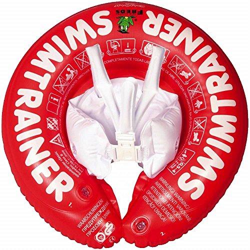 Fred's Swim Academy – Flotador de aprendizaje de natación para niños, color rojo